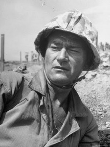 ed-clark-actor-john-wayne-as-marine-sgt-platoon-leader-in-scene-from-the-movie-sands-of-iwo-jima